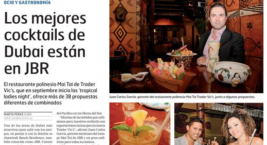 El Correo – Trader Vic's Mai Tai Lounge – September 2015